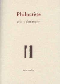"Photo de couverture : ""Philoctète"" de Cédric Demangeot"