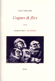 "Couverture de ""Cognes & flics"" de Paul Verlaine"